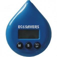 Ecosavers Green Droplet LCD Waterproof Shower Timer