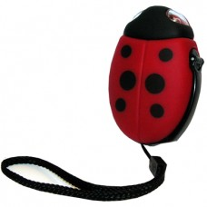Wind-up Childrens 2 LED Ladybird Torch